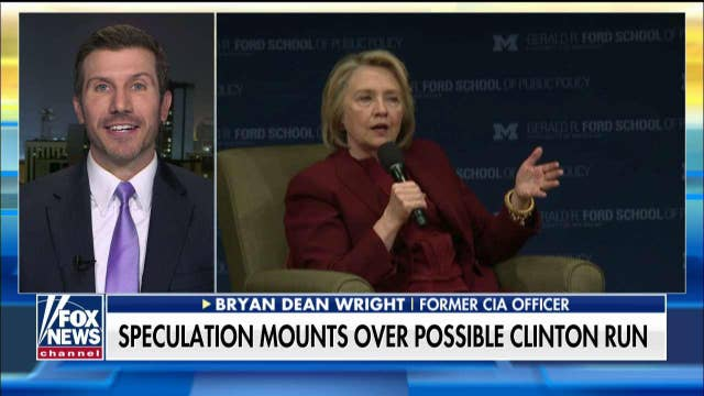Former CIA officer says a potential Hillary Clinton 2020 run makes him 'want to drink'