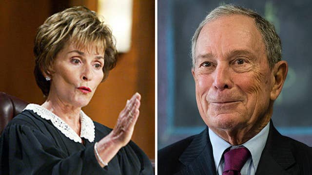 Judge Judy endorses Michael Bloomberg for president, slams Democrat Party's move to left