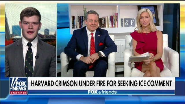 Harvard Campus Reform reporter speaks out after school protests paper over ICE article