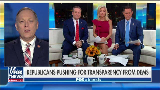 Rep. Andy Biggs on House GOP storming a closed impeachment deposition