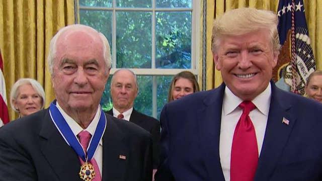 President Trump awards Medal of Freedom to Roger Penske