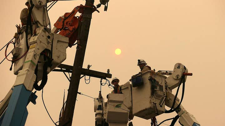 California's largest utility company begins its second round of preemptive blackouts