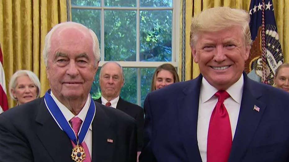 President Trump awards Medal of Freedom to Roger Penske