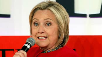 Clinton blames 'flashing videos' on the 'dark web' for her 2016 loss to Trump