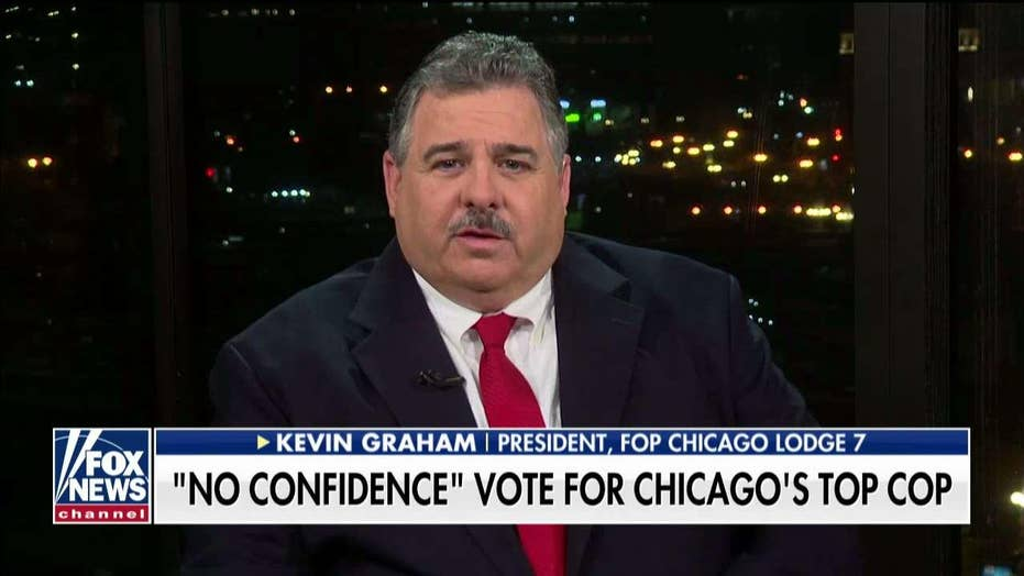 "Chicago FOP President discusses ""no confidence"" vote for Superintendent Eddie Johnson"