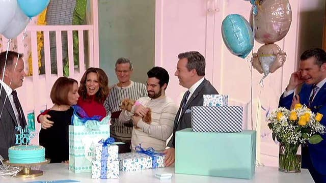 'Fox & Friends' hosts a surprise baby shower for Jed!