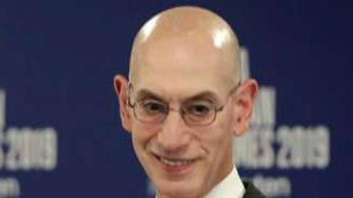 NBA commissioner fires back at the vice president over criticism of the league's response to China