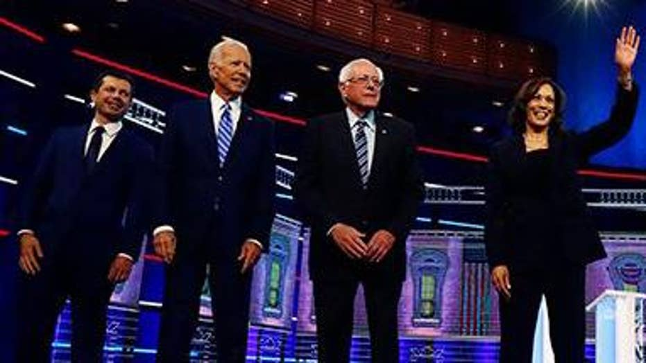 2020 Dems speak at Second Step Presidential Justice Forum