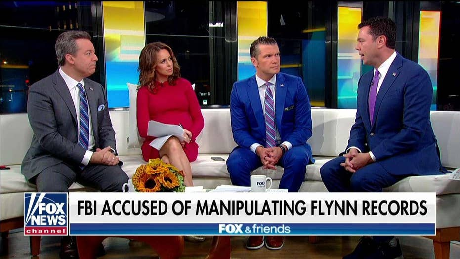 Jason Chaffetz reacts after the FBI is accused of manipulating Michael Flynn's records