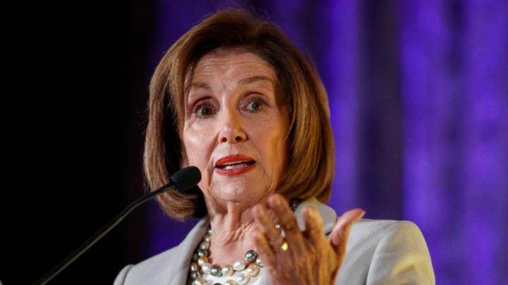 Speaker Nancy Pelosi reacts to Abu Bakr al-Baghdadi