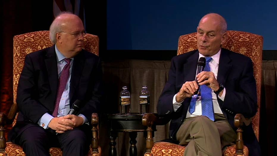 Watch: Former WH Chief of Staff John Kelly on President Trump