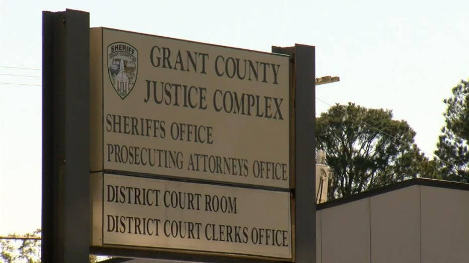 Man on trial walks out of courthouse as jury deliberates