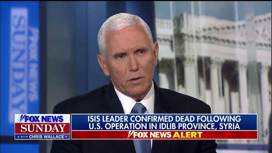 America 'woke up to learn' that the U.S. will destroy any terror group that threatens it, said Vice President Pence