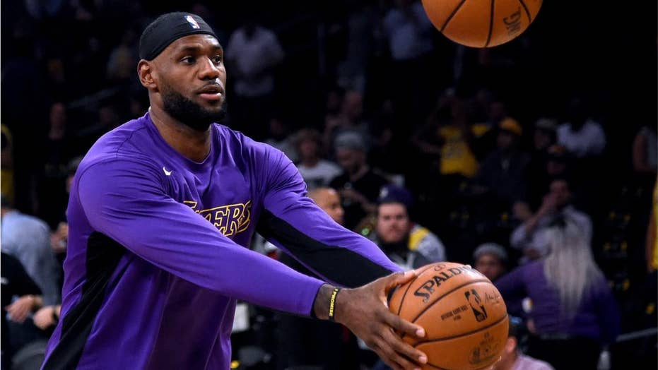LeBron James sends food truck to feed Getty Fire first responders