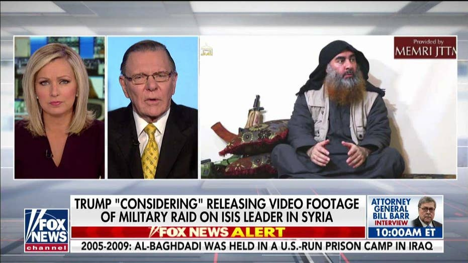 Al-Baghdadi raid a 'major win in war against radical Islam,' says Gen. Jack Keane