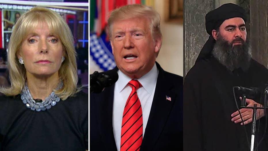 Liz Peek: Trump still can't get liberal media's stamp of approval, even after al-Baghdadi's death
