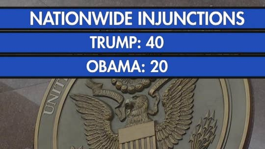 The Power of the Presidency: Trump sees double the number of nationwide injunctions than Obama