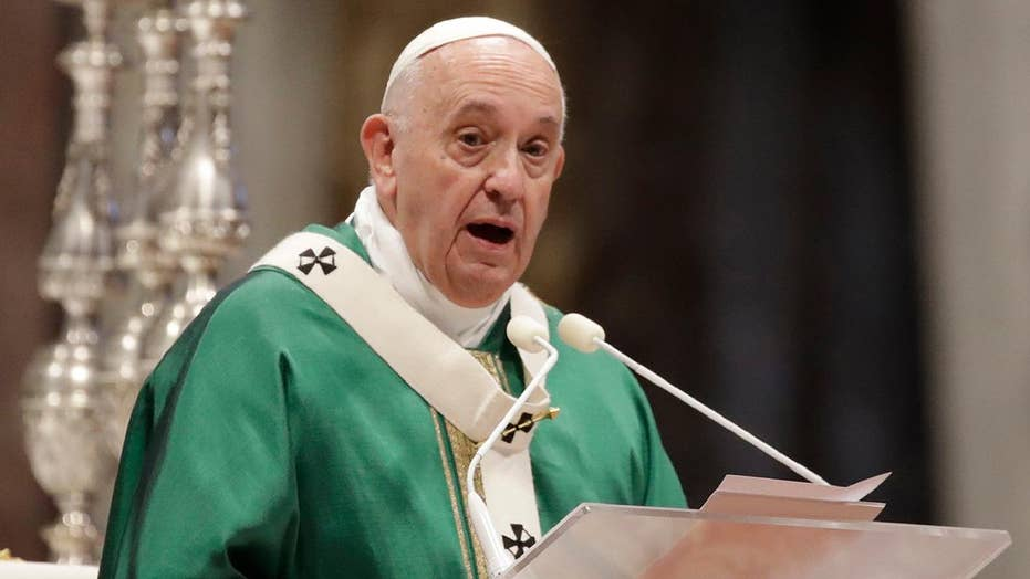 Pope Francis expresses openness to idea of married priests
