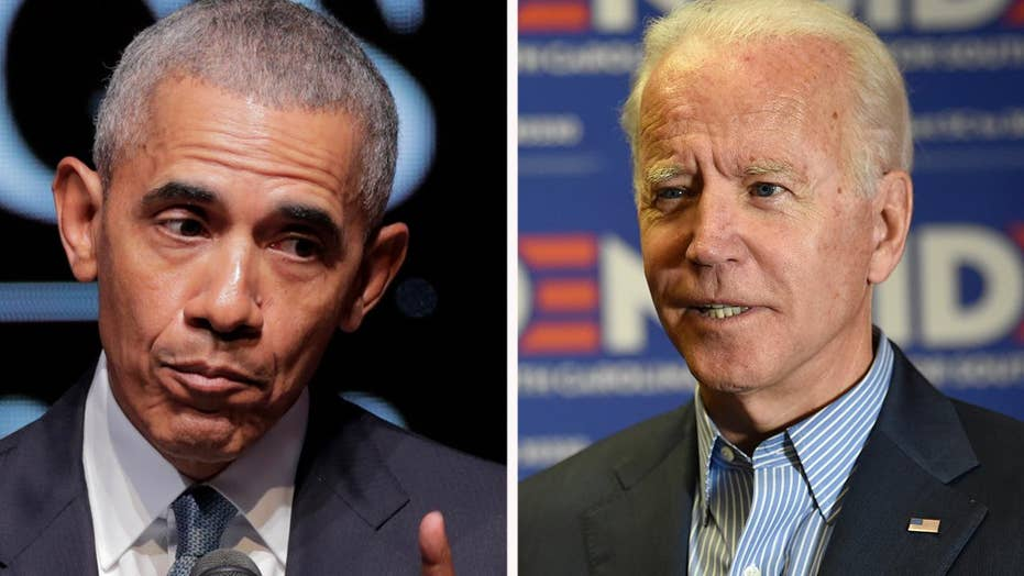 Biden claims he told Obama not to endorse him for president