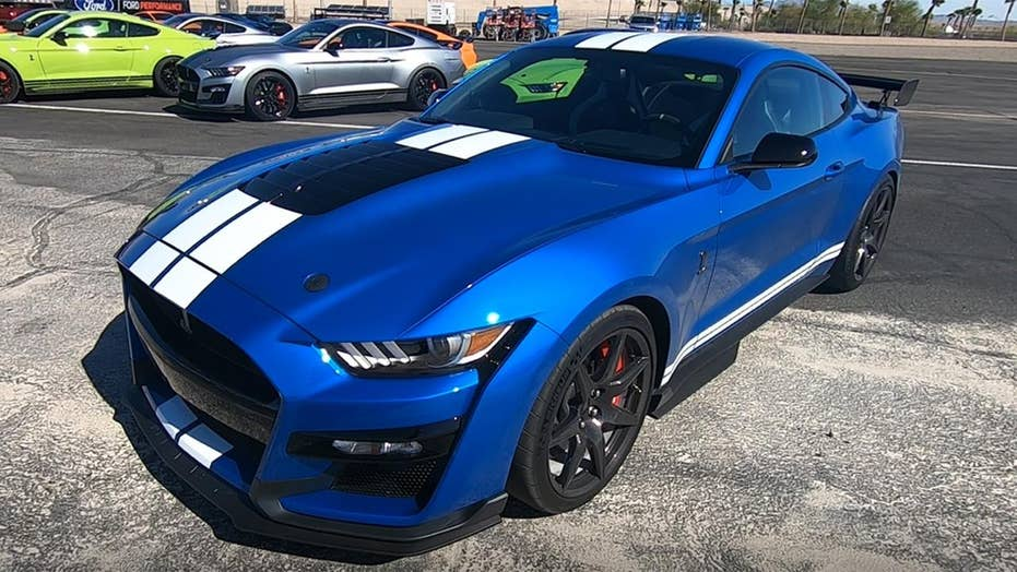 2020 Ford Mustang Shelby GT500 exam drive