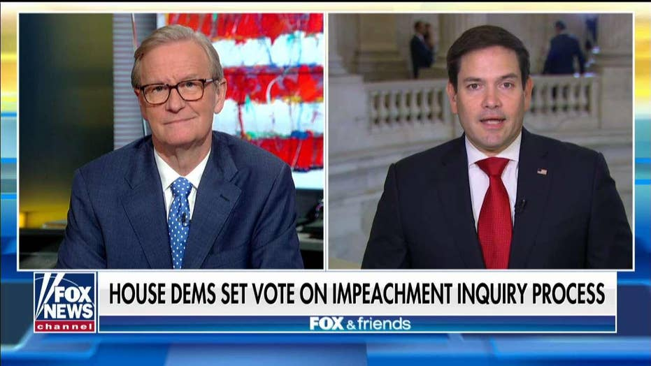 Senator Marco Rubio says voters sent House Democrats to impeach the president