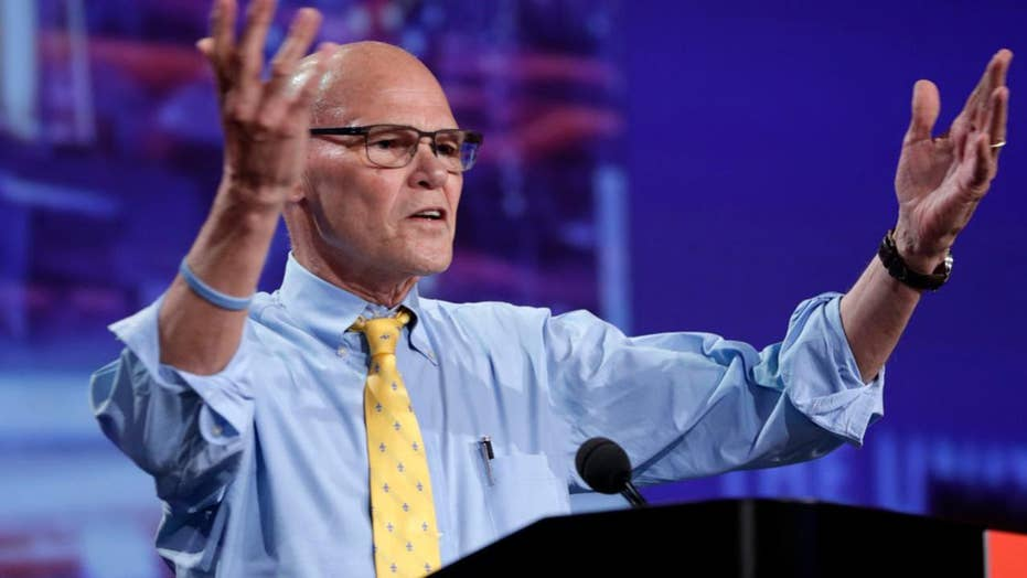 Top Clinton strategist James Carville warns 'trouble is coming' for President Trump
