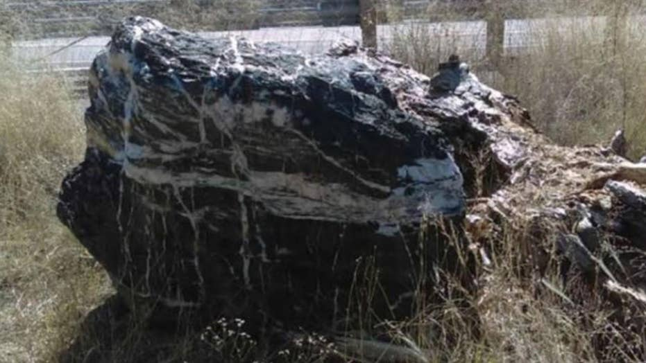 Arizona 1-ton landmark vanishes from Prescott National Forest