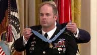 President Trump awards the Medal of Honor to Army Master Sgt. Matthew Williams