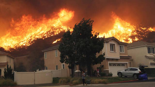 Protecting homes the top priority for California firefighters amid high winds