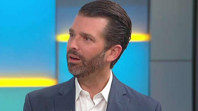Donald Trump Jr. on impeachment push: Americans get that they are being duped by Democrats