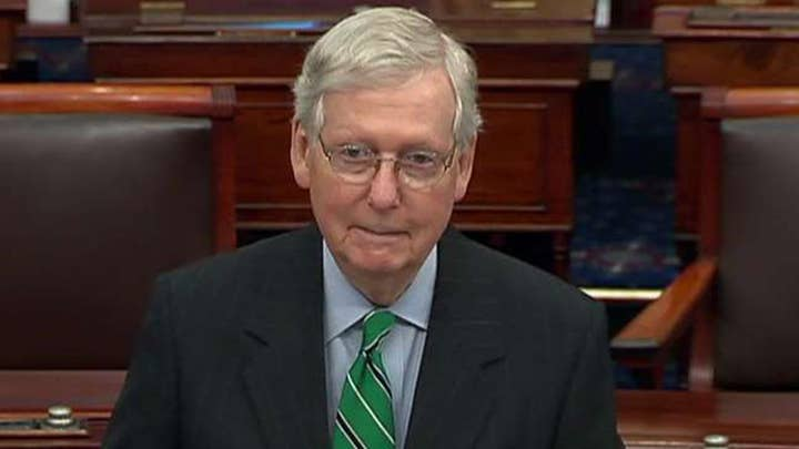 Senate Majority Leader McConnell: The missions of our service members do not pause for partisan politics