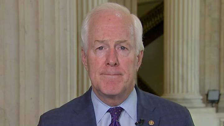 Sen. John Cornyn says impeachment push indicates Democrats are worried about the presidential election