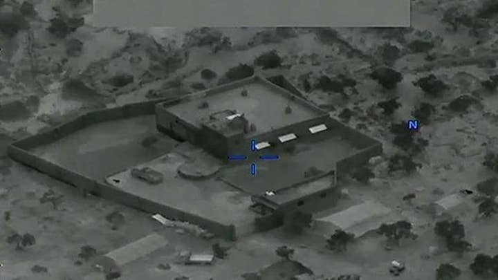DOD footage provides first look at raid that took down ISIS leader al-Baghdadi
