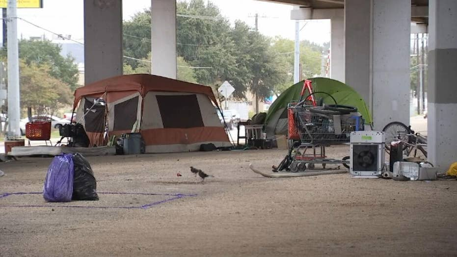 Homeless camps in Austin set to be cleared after order from Governor Abbott