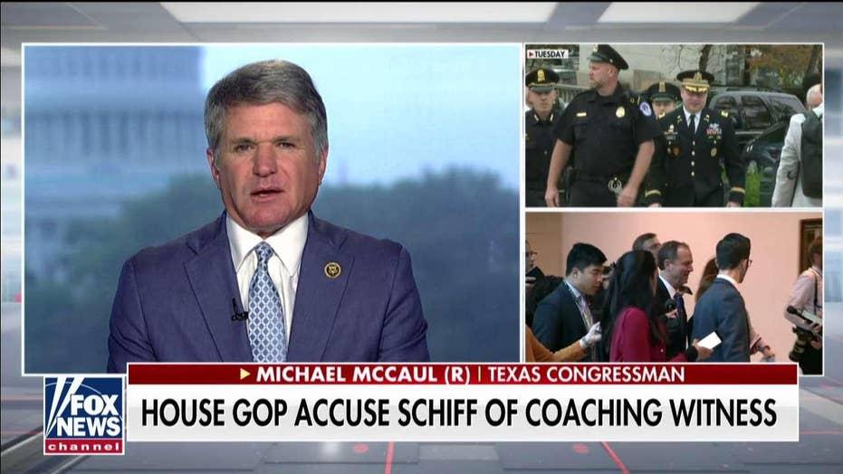 Michael McCaul: Adam Schiff, Democrats were 'complicit' with Trump whistleblower