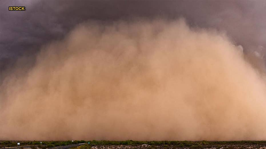 Ancient empire collapsed due to massive dust storms: study