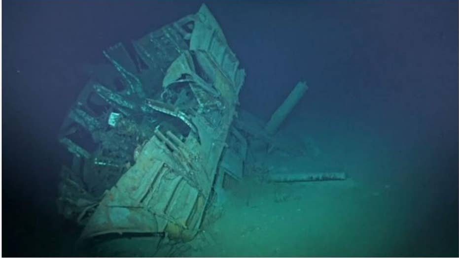 Remains of World War II American ship found at bottom of Philippine Sea
