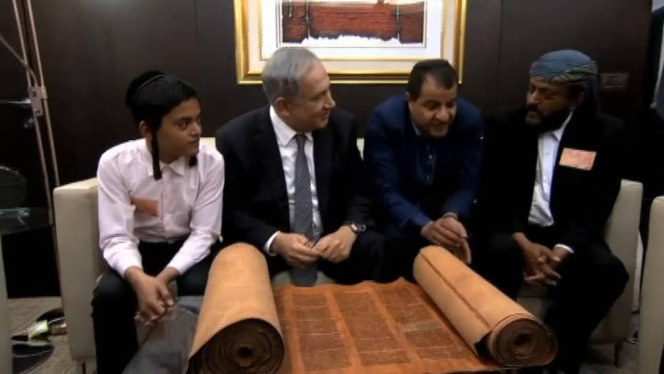 Torah scrolls smuggled out of Yemen being sought by the country