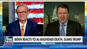 "Marc Thiessen: Joe Biden's criticisms of Trump's military raid which killed?ISIS?leader Abu Bakr al-Baghdadi are ""wrong"""
