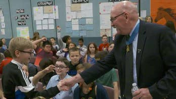 Medal of Honor recipients are inspiring students with lessons on patriotism, sacrifice