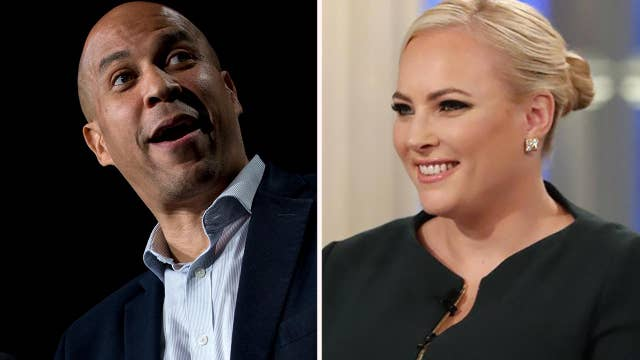 Cory Booker called out on gun buybacks by Meghan McCain on 'The View'