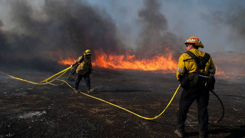 Reagan library spared from Easy fire, Kincade fire now 45 percent contained