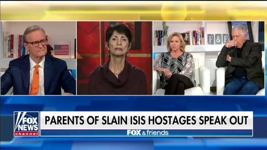 Mueller and Foley families react after the death of ISIS leader Abu Bakr al-Baghdadi