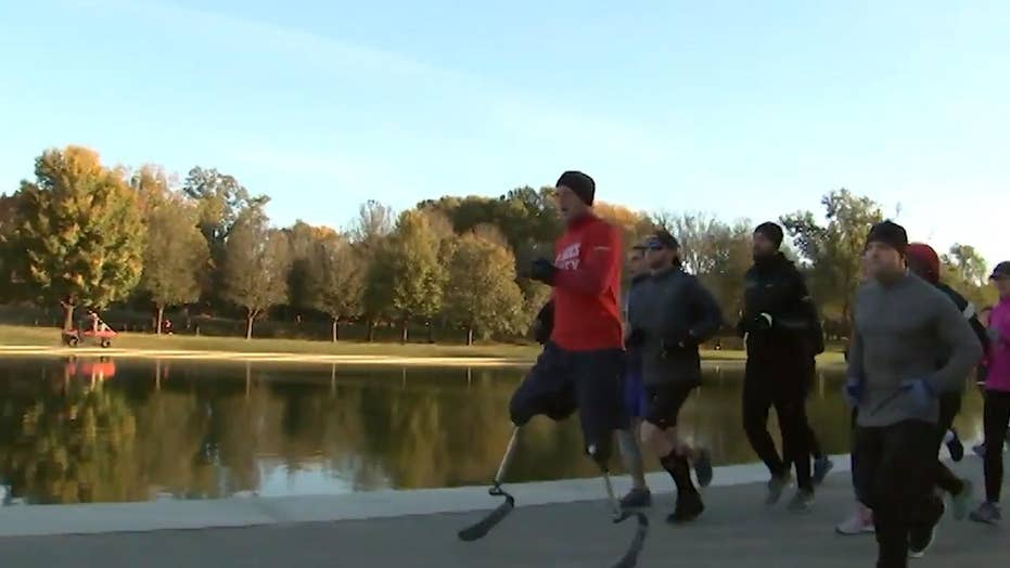 Must Watch: Awarding-winning, disabled Marine says 'I wanted my life to be something that made a difference'