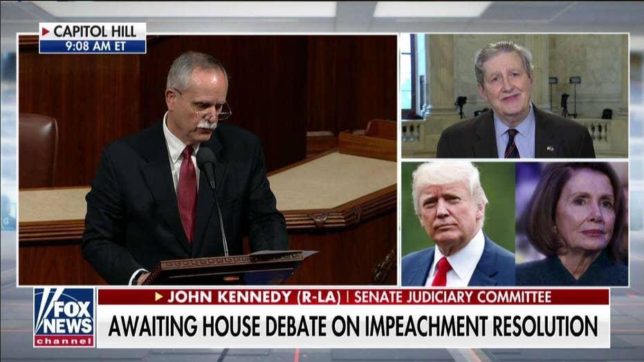 Sen. John Kennedy: There's no due process in impeachment resolution vote