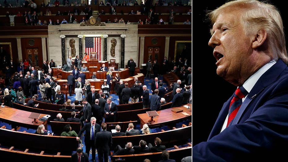 White House condemns Democrats' 'unhinged obsession' with impeachment after House approves resolution