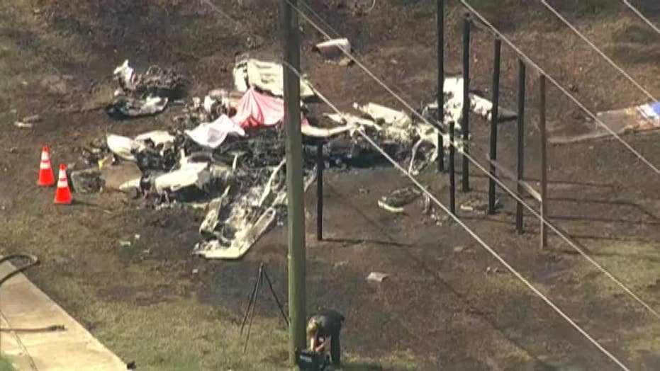 Watch: Two dead in small plane crash in Florida