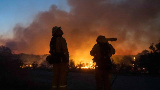 California firefighters unable to fly helicopters due to drones