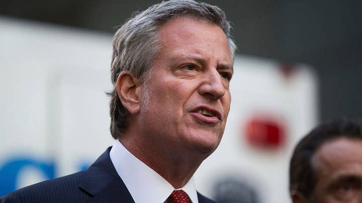 NYC Mayor Bill de Blasio says 'something doesn't fit' on the death of Jeffrey Epstein