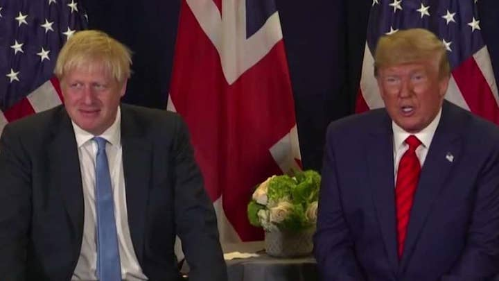 President Trump critical of Boris Johnson's Brexit deal